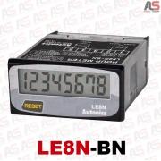 ساعت کار آتونیکس LE8N-BN تمام دیجیتال 8رقمی 24*48
