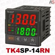 ترموستات پیشرفته دقت بالا - سوکتی TK4SP-14RN دونمایشگره 48*48